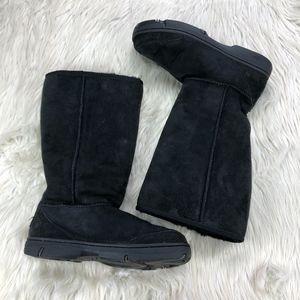 Ugg Black Braid Ultimate Tall Boots